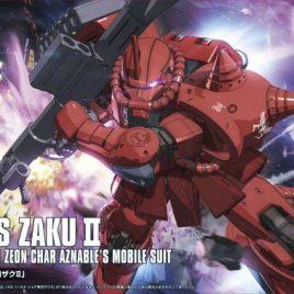 Bandai HG 1/144 ZAKU II CHAR THE ORIGIN