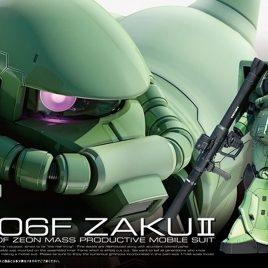 RG 1/144 ZAKU II MS-06F
