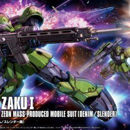 Bandai HG ZAKU I DENIM SLENDER ORIGIN 1/144