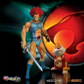 Mezco THUNDERCATS 14″ LION-O W/T SNARF FIGURE
