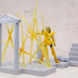 Bandai Saint Seiya D.D. Panoramation Lightning In The Palace Of The Lion – Leo Aioria