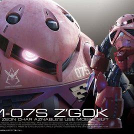 Bandai Gunpla RG 1/144 Gundam 0079 – Z'Gok Char's Custom