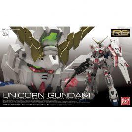 Bandai Gunpla RG 1/144 – Unicorn Gundam