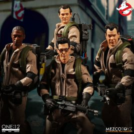 MEZCO GHOSTBUSTERS CLOTH DELUXE BOX SET