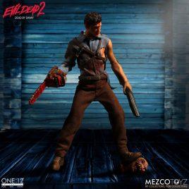 MEZCO TOYS Evil Dead 2 Action Figure 1/12 Ash 17 cm
