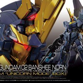 Bandai Gunpla RG 1/144 Gundam UNICORN BANSHEE NORN 02 PREMIUM BOX