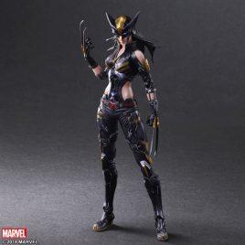 SQUARE ENIX PlayArts Kai Marvel Universe Variant – X-Men – X-23