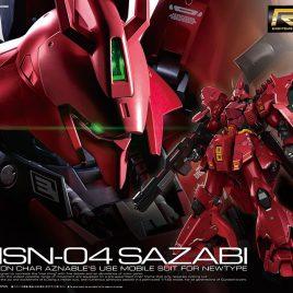 Bandai Gunpla RG 1/144 – MSN-04 SAZABI