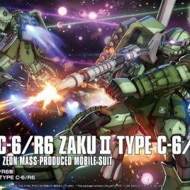 Bandai Gunpla HG 1/144 ZAKU II TYPE C-6 R6