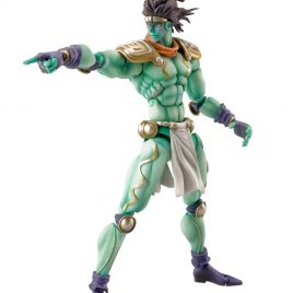 MEDICOS JoJo's Bizarre Adventure Super Action Figure Chozokado (Star Platinum) (Reissue)