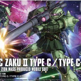 Bandai Gunpla HG 1/144 MS-06C ZAKU II TYPE C / TYPE C-5