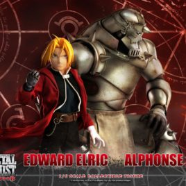 THREEZERO Fullmetal Alchemist: Brotherhood Action Figure 2-Pack 1/6 Edward & Alphonse Elric 25 – 37 cm