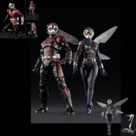 COMBO BANDAI SHF ANT-MAN & WASP : ANTMAN + WASP + WASP STAGE SET