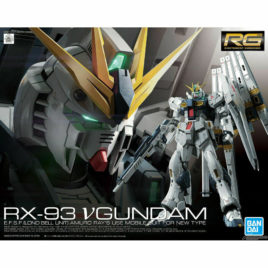 Bandai Gunpla RG 1/144 GUNDAM NU RX-93