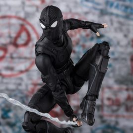 BANDAI S.H.F. Spiderman Far From Home – Spiderman Stealth Suit TamashiWeb Exclusive