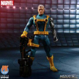 MEZCO ONE 12 COLL MARVEL PX CABLE X-MEN ED AF