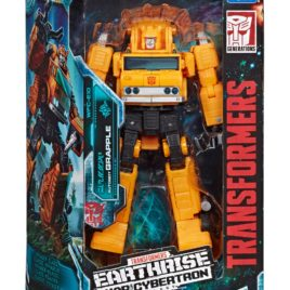 HASBRO-TAKARA TOMY Transformers Generations – War for Cybertron: Earthrise – Autobot GRAPPLE