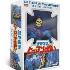 MOTU – Masters of the Universe – Action Figure – Skeletor Japanese Box