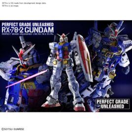 BANDAI PG GUNDAM RX-78-2 UNLEASHED 1/60