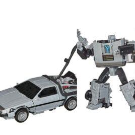 HASBRO Transformers x Back to the Future Action Figure Delorian 14 cm