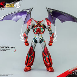 THREEZERO ROBO-DOU – SHIN GETTER 1 ANIME METALLIC EDITION