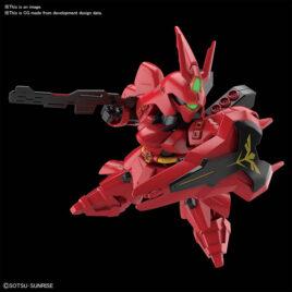 Bandai MODEL KIT SD GUNDAM EX-STANDARD – MSN-04 Sazabi