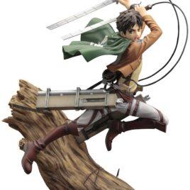 KOTOBUKIYA Attack on Titan ARTFX J Statue 1/8 Eren Yeager Renewal Package Ver. 26 cm