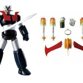 BANDAI SRC Super Robot Chogokin – MAZINGER Z + MAZINGER WEAPON SET