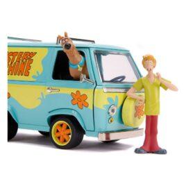 JADA TOYS – Scooby Doo Hollywood Rides Diecast Model 1/24 – Mystery Van con figura di Shaggy e Scooby Doo