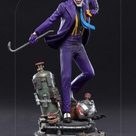 IRON STUDIOS DC COMICS THE JOKER 1/10 ART STATUE