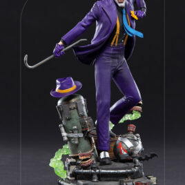 IRON STUDIOS DC COMICS THE JOKER 1/10 ART DLX STATUE