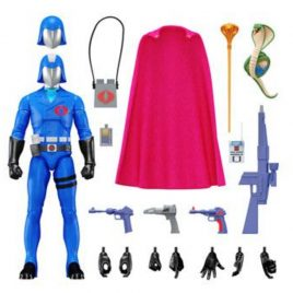 SUPER7 G.I. Joe Ultimates Action Figure Cobra Commander 18 cm