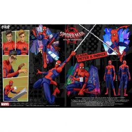 SENTINEL Spiderman Into the Spider-Verse SV Action – PETER B. PARKER – Spiderman Action Figure