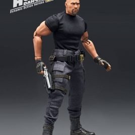 BEAST KINGDOM Fast & Furious Dynamic Action Heroes Action Figure 1/9 Luke Hobbs Limited Edition 21 cm