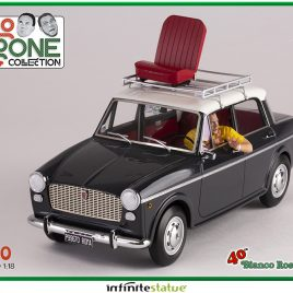 INFINITE STATUE MIMMO SU FIAT 1100 1/18 RESIN CAR